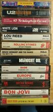 Cassette Tapes You Choose: Rock,Pop,& Everything Inbetween 70's, 80's, 90's