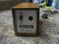 Vintage Groovac Vacuum Record Cleaner - As Is, Powers On, Not Fully Tested