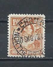 NORTHERN RHODESIA , 1938/52 , GEORGE VI , 11/2p STAMP ,  PERF , USED