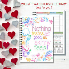 3MTH food diary diet slimming weight watchers tracker journal note book log c/33