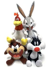 Looney Tunes 6-8 Inches Taz, Bugs Bunny, Foghorn Leghorn & Daffy Duck Plush