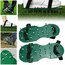 More details for garden lawn durable lawn aerator spiker shoes spike exercise sandals heavy duty