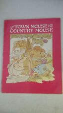 The Town Mouse and the Country Mouse: An Aesop Fable Library Binding – 1979