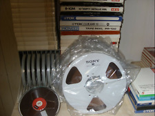 REEL TO REEL TAPES 10.5 METAL AND 7.5 BASS IN EXCELLENT CONDITION.