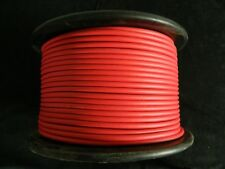 MICROPHONE CABLE RED 100 FT WIRE SHEILDED MIC LO-Z CORD AUDIO STEREO NOISE FREE