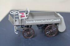 1st Daimler Cannstadt LKW Truck Motoren Gesellschaft 1896 1:43 Cursor Modell Old