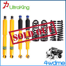 "Toyota Prado 90 Series Front & Rear Shocks + Coil Springs 2"" 50mm HD Lift Kit"