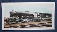British Railways Ex LNER V2  Steam Locomotive 60976 Vintage Colour Card