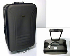 Koffer Trolley Reisekoffer Trolleys 2 er Set Sch Grau Mittel u. klein MC30007