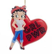 Betty Boop Girl Power Resin Hanging Ornament