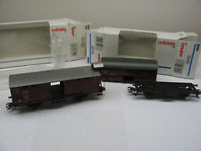 Marklin 4888 and 46160 Frieght Cars for Repair