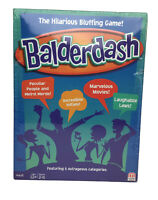 Balderdash The Game of Twisting Truths Board Game 2014 New Factory Sealed Mattel