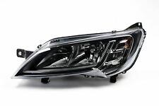 Peugeot Boxer 14-17 Black Headlight Headlamp Left Passenger Near Side N/S