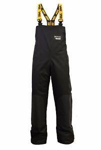 Vass TEAM 350 WINTER Bib & Braces * Black * Edition 4 * Fishing Clothing *