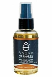 eShave Pre Shave Oil Orange Sandalwood 60ml