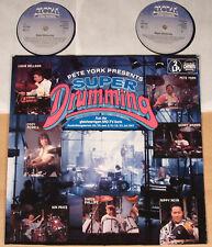 PETE YORK presents: SUPER DRUMMING - Vol. I (GLOBAL, D 1987 / 2LP / vg++/m-)