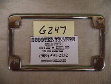 Harley Vintage License Frame #13201 (#G247)