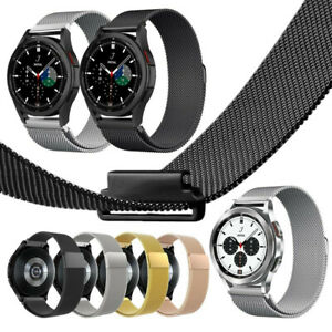 Milanese Loop Mesh Watch Band Strap For Samsung Galaxy Watch 4 Classic 42mm 46mm