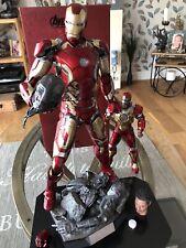 Hot Toys Iron Man XLlll edad De Ultron 1:4 Deluxe Gran Escala