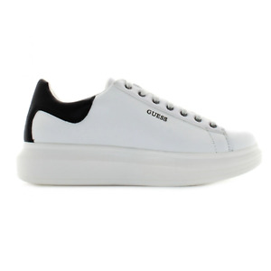Guess Salerno Genuine Leather Trainer