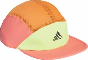 adidas AeroReady 5 Panel Reflective Running Cap - Orange