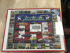 White Mountain Puzzles The American Automobile First 100 Years 1000 Piece Puzzle