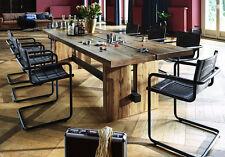 Tisch Esstisch Eiche massiv BALKENEICHE Modell Dresden von BODAHL,  200 x 100 cm