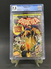 Tomb of Dracula #14 CGC 7.5 White Pages Gil Kane Blade App Newly Graded!