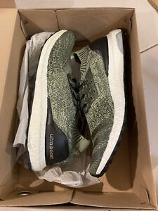 Authentic Adidas UltraBoost Uncaged Tech Earth Green 2016 Size 11.5 Brand New