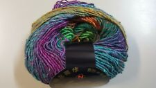 Noro Silk Garden Lite # 2154 Green Orange Purple Aqua Mix 50g