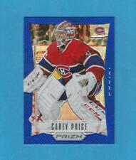 """2012-13 Prizm Hockey Carey Price """"Blue"""" Prizm Card"""