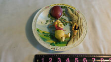 Winnie The Pooh Plate Bradford Disney A FINE DAY TO BUZZ WITH THE BEES