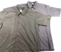 Mens Vintage SLANT Black And Blue Shirt Lot Size XL