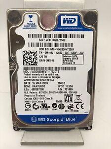Disque dur Interne HDD 250Go WesternDigital Modèle WD2500BEVT d'Occasion!!!