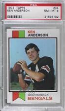 1973 Topps Ken Anderson #34 PSA 8 Rookie