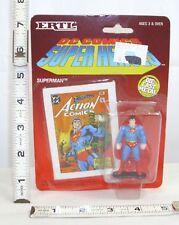 ERTL DC COMICS SUPER HERO'S SUPERMAN DIECAST METAL FIGURE MINT ON CARD