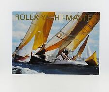 Manual English 2008 Rolex Yacht-Master Booklet