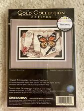 New Dimensions Travel Memories Counted Cross Stitch Kit