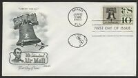 #C57 10c Liberty Bell. Artmaster FDC **ANY 4=FREE SHIPPING**