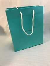 "TIFFANY & Co. Blue Paper Shopping Gift Bag  8"" x 10"" x 4""  NEW"