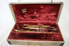 "Gorgeous Rare Vintage Getzen ""Super Deluxe"" Tone Balanced Trumpet Serial #35310"