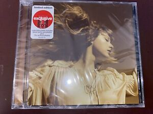 CD - TAYLOR SWIFT - Fearless - Target Exclusive (w/poster) - SEALED!