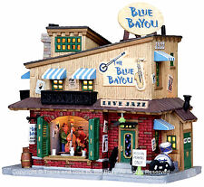 Lemax 05006 THE BLUE BAYOU CLUB Retired Building Christmas Village Decor S O I