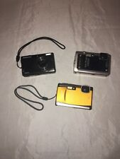 Lot Of 2 Olympus 1 Samsung Cameras, Repair Or For Parts
