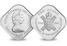 1981 Jersey Square £ 1 coin [REF 375U]