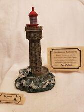 Harbour Lights 192 La Jument, France Lighthouse, Coa, Box #1594 c. 1997