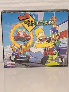 Simpsons: Hit & Run (PC, 2003) Vivendi Universal games 3 Disc