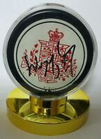 Wayne gretzky signed ZIEGLER GAME PUCK THE CANADIAN SOCIETY OF NEW YORK HOF er