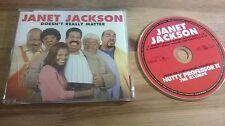 CD Pop Janet Jackson - Doesnt Really Matter  (2 Song) Promo DEF JAM / VIRGIN sc