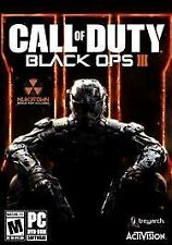 Call of Duty Black Ops III 3 - CD Key Steam PC Game New